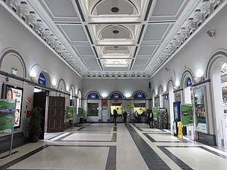 Heuston railway station - Ticketing area in 2018