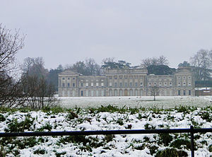 Heveningham - Image: Heveningham Hall on a cold November day (geograph 2178364)