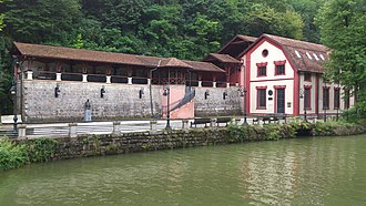 Hydroelectricity - Museum Hydroelectric power plant ″Under the Town″ in Serbia, built in 1900.