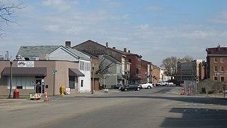 Downtown Lawrenceburg Historic District - High and Vine, Lawrenceburg, Indiana, November 2012