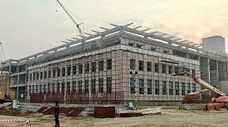 Andhra Pradesh High Court - High court of Andhra Pradesh under construction (January 2018)