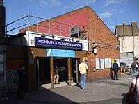 Highbury & Islington station building.JPG