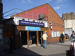 Highbury & Islington station building.JPG
