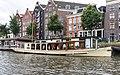 Hilda und Hausboote, Kromme Waal Amsterdam-2.jpg