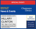Hillary Clinton book signing at Chappaqua Library.png