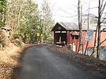 Hillsgrove Covered Bridge Portal and Side in 2012.jpg