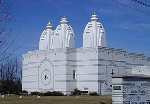 Hindu Temple of Ottawa-Carleton - Hindu Temple looking northeast