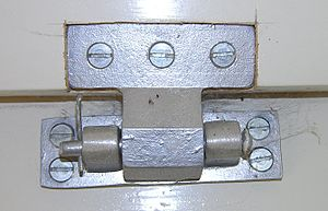 The two part iron hinge