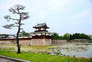 Hiroshima Castle - Part of the reconstructed castle