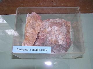 Polyhalite sulfate mineral