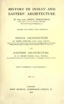 History of Indian and Eastern Architecture Vol 2.djvu