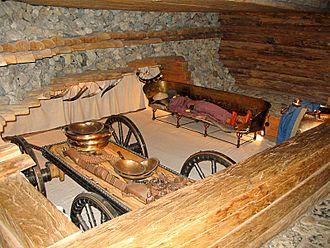 Hochdorf Chieftain's Grave - Image: Hochdorf keltenmuseum 0815