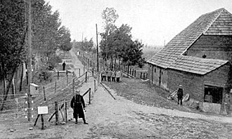 Wire of Death - The wire near a Belgian farm, including a German patrol.