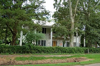 National Register of Historic Places listings in Acadia Parish, Louisiana - Image: Hoff House WM