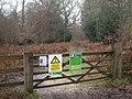 Holmsley Inclosure, warning sign - geograph.org.uk - 1139718.jpg