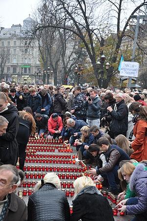 Holodomor Remembrance Day 2013 in Lviv 05