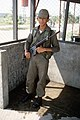 Honduran air force security policeman, armed with a 7.62 mm FN FAL rifle, 1984.jpg