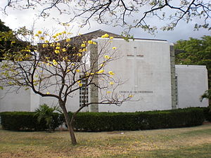 Church of the Crossroads - Image: Honolulu Churchof Crossroads end