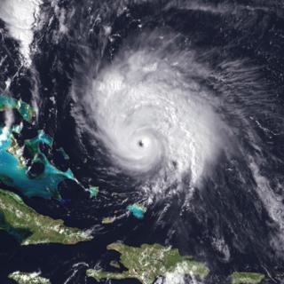Category 4 Atlantic hurricane in 1996