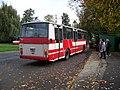 Hostavice, autobus 1034 v nástupní zastávce.jpg