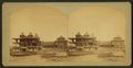 Hotel Orleans, west end, and Bridge. Spirit Lake, Iowa, by Frank F. Roblin.png