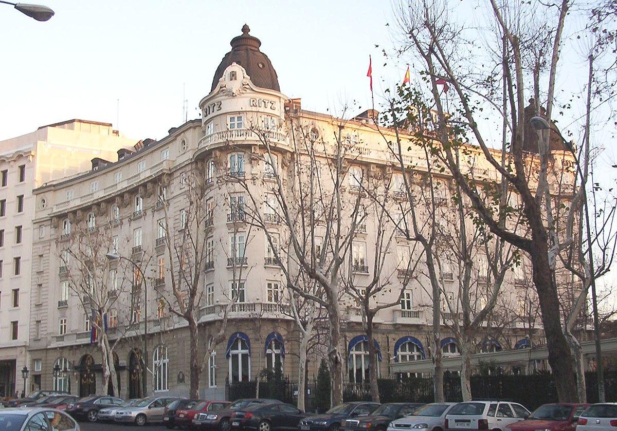 Hotel ritz madrid wikipedia la enciclopedia libre for Hoteles en la calle prado de madrid