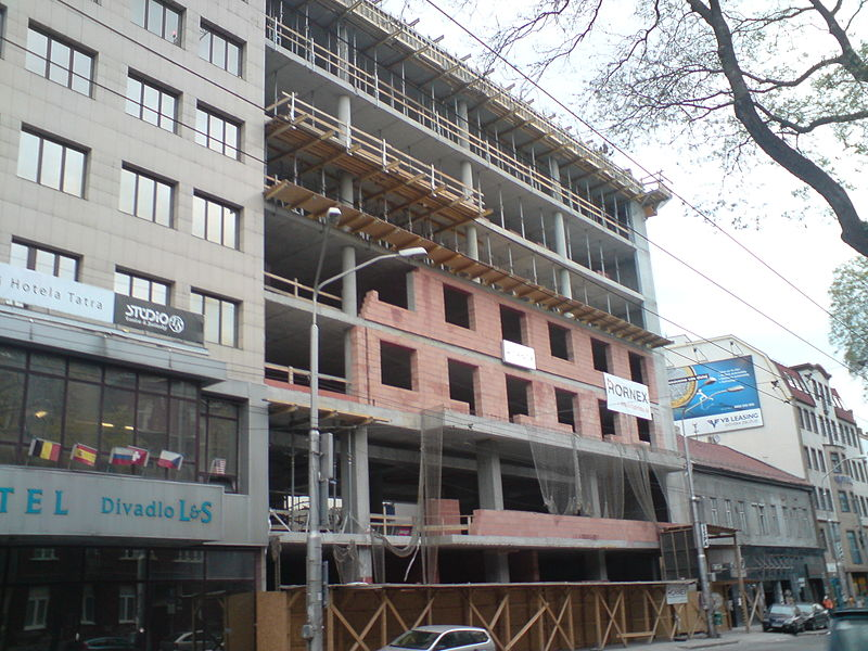 Bratislava projects and construction updates viii page for Design hotel 21 bratislava kontakt