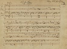 List of compositions by Franz Schubert by genre - Wikipedia