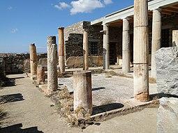 Casa de las Máscaras, Delos, siglo III a.C.