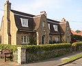 Houses dated 1933, Hutton Buscel - geograph.org.uk - 246103.jpg