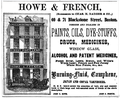 Howe and French BlackstoneSt BostonDirectory 1861.png