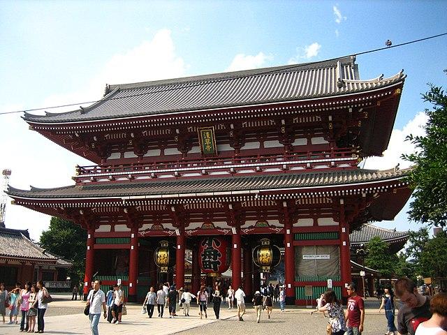 Сэнсо-дзи. Токио