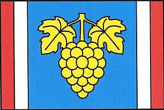 Hroznatín - Image: Hroznatín vlajka