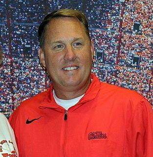 Hugh Freeze American football coach