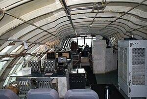 Hughes H-4 Hercules - The flight deck of the H-4, 2010