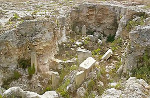Xagħra Stone Circle - Remains of the Xagħra Stone Circle