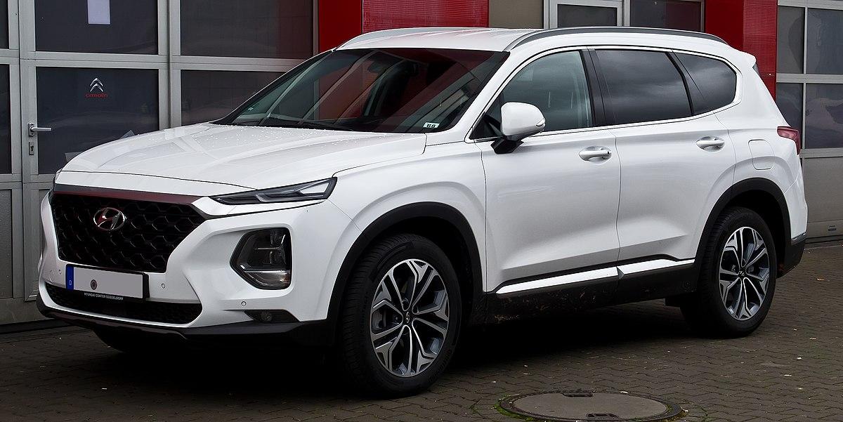 2018 Hyundai Santafe >> Hyundai Santa Fe - Wikipedia