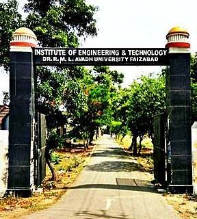 Institute of Engineering and Technology, Ayodhya Indian engineering college