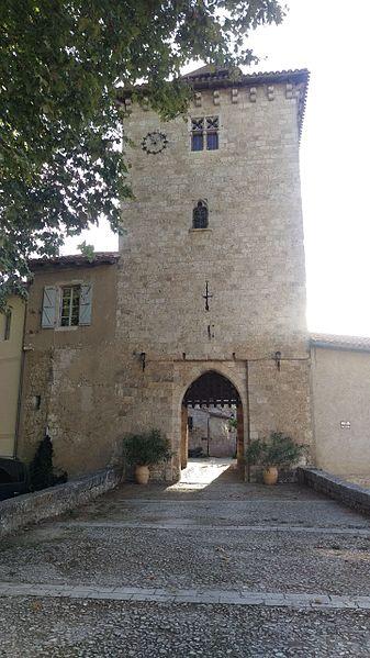 Puerta de entrada a Sarrant (Gers.Francia)