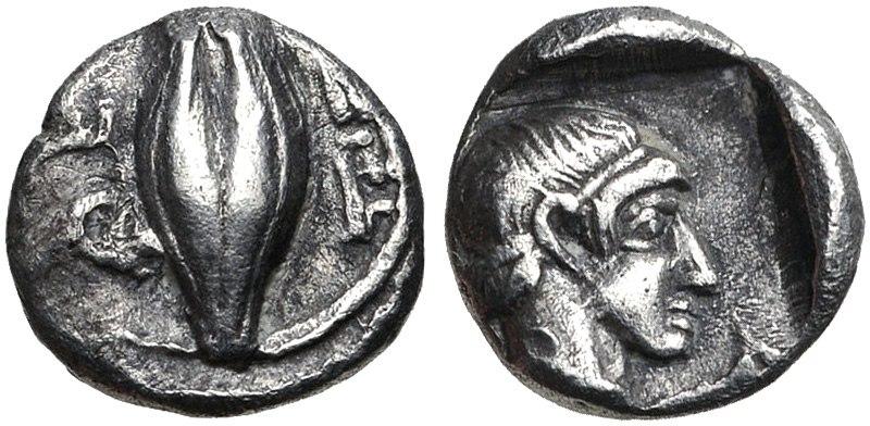 IONIA, Magnesia ad Maeandrum. Themistokles reverse. Circa 465-459 BC