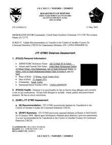 ISN 00064, Adl Al Hadi M Al Subay's Guantanamo detainee assessment.pdf