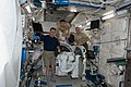 ISS-22 crew members in the Kibo lab.jpg