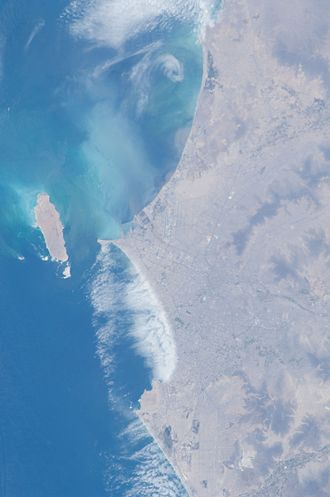 Lima - Lima as seen from the International Space Station