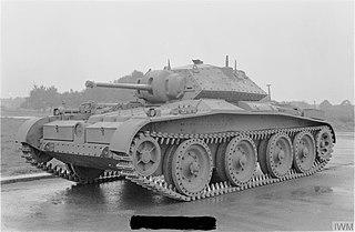 Covenanter tank Cruiser tank