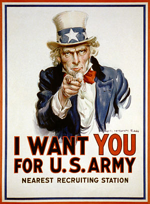 I want your for U. S. Army by James Montgomery Flagg