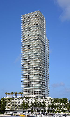 ICON at South Beach - The ICON at South Beach residential tower in Miami Beach. Photo: Marc Averette