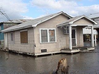 Isle de Jean Charles, Louisiana island in the United States of America