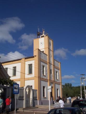 Uribia, La Guajira - Church in downtown Uribia.