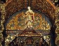 Igreja de Nossa Senhora do Ó - Sabará - Imagem de Nossa Senhora do Ó no altar-mor3.jpg