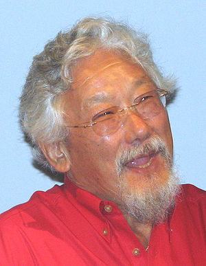 David Suzuki, at a speech.